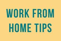 WAHM | Work From Home / Time management, balance, planners, ideas for working from home