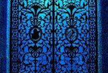 ~ Blue Moon ~ / Blue, azul, cobalt, sapphire / by Sandy Trageser