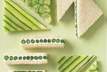 Kids' Snacks / Fun ideas for snacks, with an eye toward kid-friendly fare