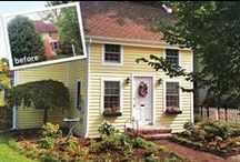 Amazing house transformations / Before and after photos of remodels and additions that take a house from underwhelming to magnificent.