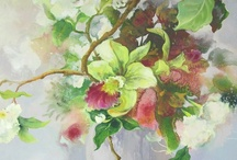 Landscapes and Florals / Here are some samples of landscape and floral artworks available at Tusk.