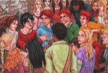 Fan[dom] Art / Fan art of Harry Potter, the Hunger Games, and Lord of the Rings. / by Sam K