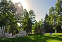 Aspen Meadows Resort / The Aspen Meadows Resort encompasses over 40 acres in the historic West End of #Aspen Colorado.