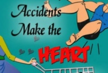 Accidents Make the Heart Grow Fonder / Falling in love can be scary. Falling for a klutz can be downright risky. A romantic comedy that packs a hilarious punch.