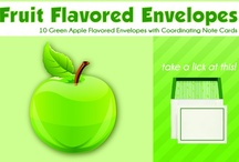 the original five fruit / New Designs for Fruit Flavored Envelopes / by Flavorlopes ...