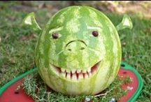 Watermelon carving / Watermelon carvings
