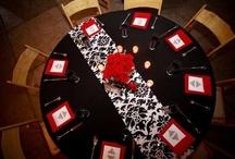 Black, white & red wedding ideas / by Yvonne Sherry