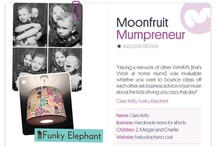 Moonfruit Mumpreneurs  / September was our Mumpreneur Month, a chance to celebrate and share the success stories of all our Moonfruit mumpreneurs. We felt that the mumpreneurs in our community deserved recognition, so we invited them to share their journeys with us on the Moonfruit Facebook page, ranging from their inspiration to details on their business and products.