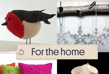 Gifts for the Home  / Everything you need to turn your home into a winter wonderland... and all from our talented Moonfruit community! / by Moonfruit