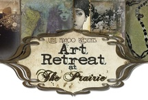 Art Retreat at The Prairie ~ Spring 2013 / Join Diane Cook and Deryn Mentock at The Prairie by Rachel Ashwell when Vivi Magoo Presents hosts Art Retreat at The Prairie ~ Spring 2013!  http://artretreatattheprairiespring.blogspot.com / by Barb Solem
