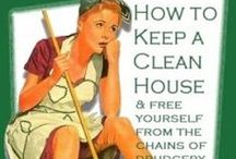 home: cleaning / by Grace David