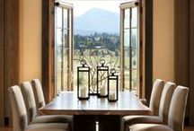 Interiors and Exteriors / Beautiful and livable home spaces inside and out.