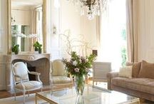 Refined Style + Design / Refined and luxurious. We love the accents in all of these rooms.