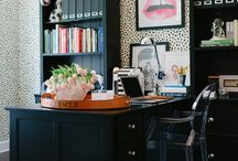 :: inspiration board :: / style boards, work spaces, and home offices / by Jenn Elle