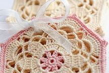 Coasters, doilies / Crocheted coasters and doilies