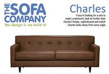 Leather Sofas by TSC / If you want something unique and cozy, nothing says welcome home better than good leather sofa to sink into. Select from any of our many sofa styles, unique leather hides and base options to design the perfect custom sofa for your home.