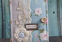 Notebook covers / Homemade notebook covers