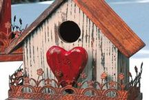 Birdhouses and Feeders / Homemade bird feeders, houses, etc / by Pay it forward
