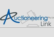 Auctioneering Link / Variety of advertisements, posters & LOGO's