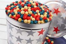 Patriotic Gifts / Red, white, and blue / by The Popcorn Factory