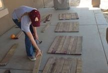 DIY - Wooden Pallet Designs / Have fun building & designing your own pallet projects! Let your imagination be your guide... / by Pay it forward