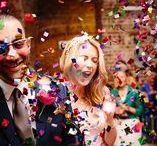 Confetti Shots / Wedding confetti shots as they happen!