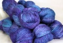 Gleem Lace / 874 yards of Laceweight 55% Bluefaced Leicester and Silk. Available in 12 stunning colours.