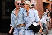 Street Chic: New York / Denim inspirations from the streets of New York.