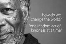 Acts of Random Kindness - ARK / Pay it Forward - One random act of kindness at a time can change the world!