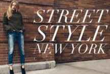 New York Street Style / See the gorgeous New York City from the eyes of Mavi with latest street style trends.