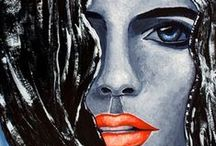 """My """"Raw Series"""" / Paintings from my """"Raw Series"""""""