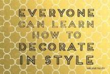 School of Style for Entrepreneurs / Join our School of Style and learn how to create a beautiful work space. http://theperfectbackdrop.com/