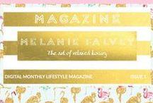 MAGAZINE / Free digital monthly LIFESTYLE MAGAZINE  http://melaniefalvey.com/?p=6509&preview=true