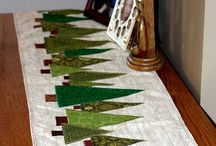 Table Runners, wall Hangins, mug rugs, etc