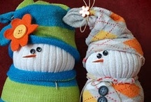 DIY/Crafts: CUTE snowmen!