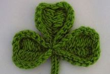 St. Patrick's Day Knitting Patterns / Find green knitting patterns, knitted shamrock appliques, traditional cable knitting patterns, and more in this festive collection of St. Patrick's Day knitting patterns.  / by AllFreeKnitting