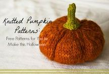 Homemade Halloween Costumes + Decorations to Knit / This year, make a homemade Halloween costume with these spooky Halloween knitting patterns. Find knit Halloween costume patterns for the whole family and tons of DIY Halloween decorations to knit for the house.
