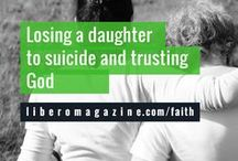 Spirituality/Faith & Mental Health / We are a nonprofit magazine providing resources and support for mental health.   Read more at: LIBEROMAGAZINE.COM/FAITH