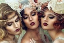 Vintage Hair + Makeup (1920s - 1940s) / Vintage styled hair and makeup: original vintage looks and those inspired by the 1920s, 30s and 40s.
