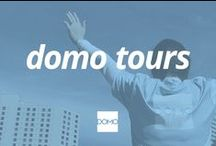 Domo Tours / When it comes to events, we're literally all over the map. You can find us at dinners, ball games, shows and summits, connecting with customers and meeting new folks. Look for the next time we'll be in your area—we'd love for you to drop in and say hello.