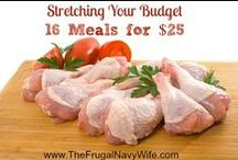 {Affordable Meals & Meal Plans} / Learn ways to $ave money on food & why meal planning is important