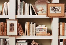book shelves