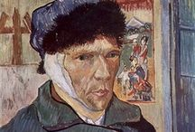 """Vincent / 19th November 1883. And my aim in my life is to make pictures and drawings, as many and as well as I can; then, at the end of my life, I hope to pass away, looking back with love and tender regret, and thinking, 'Oh, the pictures I might have made!""""  -Vincent van Gogh.-  / by Joke van Dijk"""