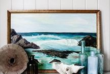 house by the sea / Nautical and coastal looks that bring the adventure and beauty of the sea to the home. / by Hadley Marie