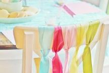 Party! / Ideas, decoration, gifts, details...to organize a party