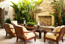 outdoor spaces / by Fabiana