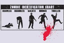 Zombies and THE WALKING DEAD / It's all fun and games until someone gets bit... / by Pamela K