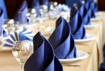 Table Setting | Napkins, Plates and Glassware