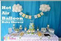 Festa Hot air balloon / Ideias para a festa de aniversario  balão de ar quente