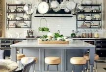 Kitchen of Dreams / What creates the perfect cooking space? A combination of an inspiring design and top-of-the-line cookware.  / by Lilie Jane Hudson